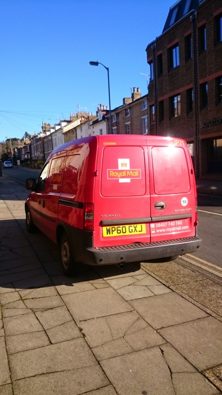 Super cute Royal Mail van
