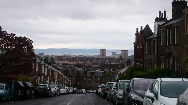 Overlooking Leith