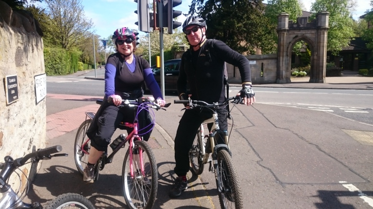 My lovely airbnb and cycling tour hosts, Mary and Donald.