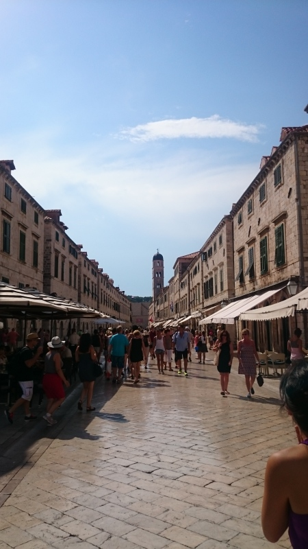 After arriving our first stop was into Dubrovnik's old town for lunch and a wander.