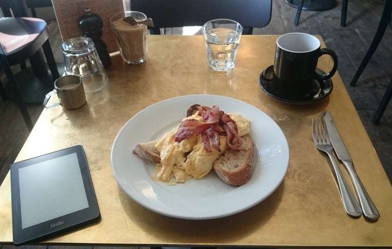 Ive already started on the checklist. This was a yummy breakfast at No. 67 South London Gallery cafe)