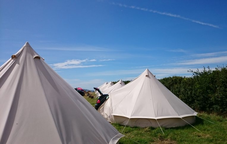 Fancy pants bell tents